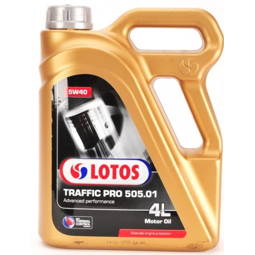 Моторно масло LOTOS TRAFFIC PRO 505.01